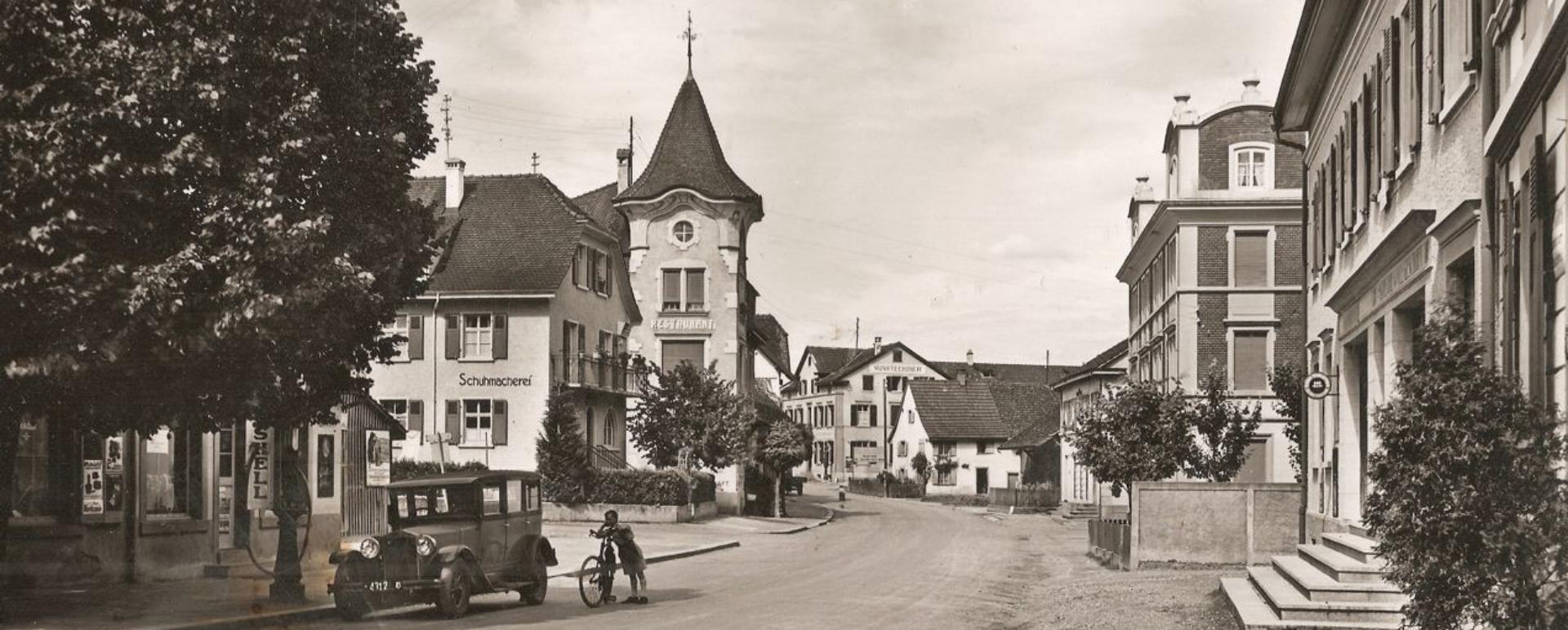 Oberwil – einst und heute